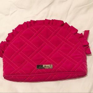 Vera Bradley Ruffle Microfiber Cosmetic Bag